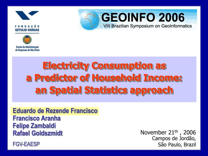 Electricity Consumption as