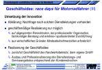 gesch ftsidee race days f r motorradfahrer iii