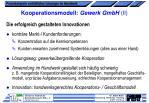 kooperationsmodell gewerk gmbh ii