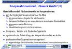 kooperationsmodell gewerk gmbh iii
