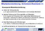 mitarbeiterorientierung schreinerei brammertz iii