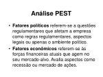 an lise pest