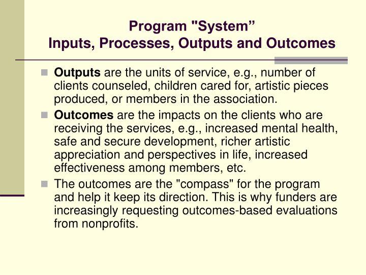 """Program """"System"""""""