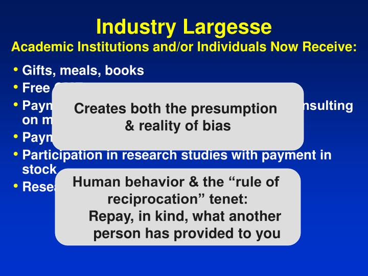 Industry Largesse