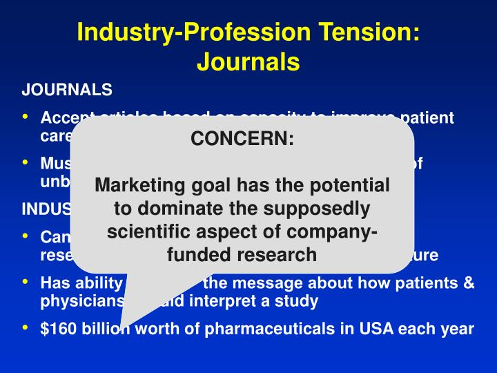 Industry-Profession Tension:
