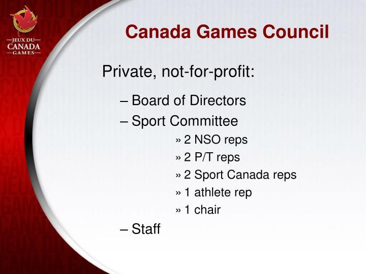 Canada Games Council