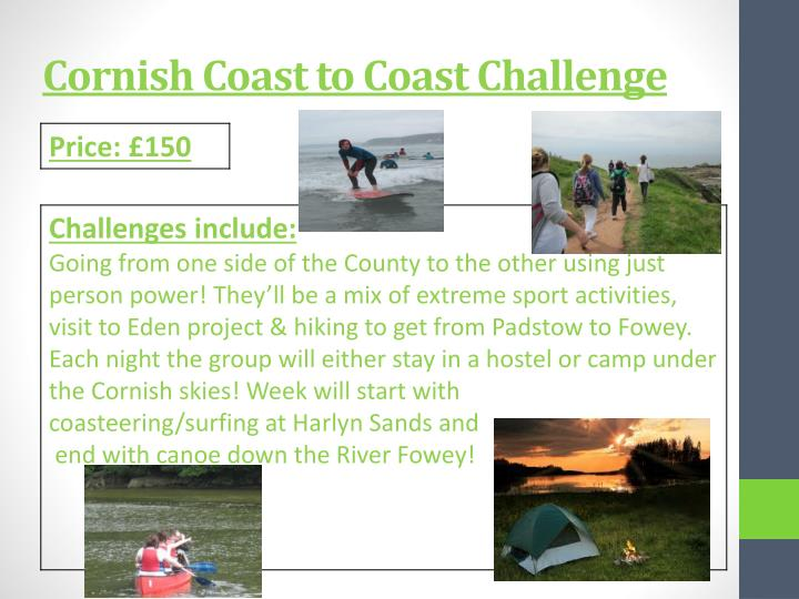 Cornish Coast to Coast Challenge