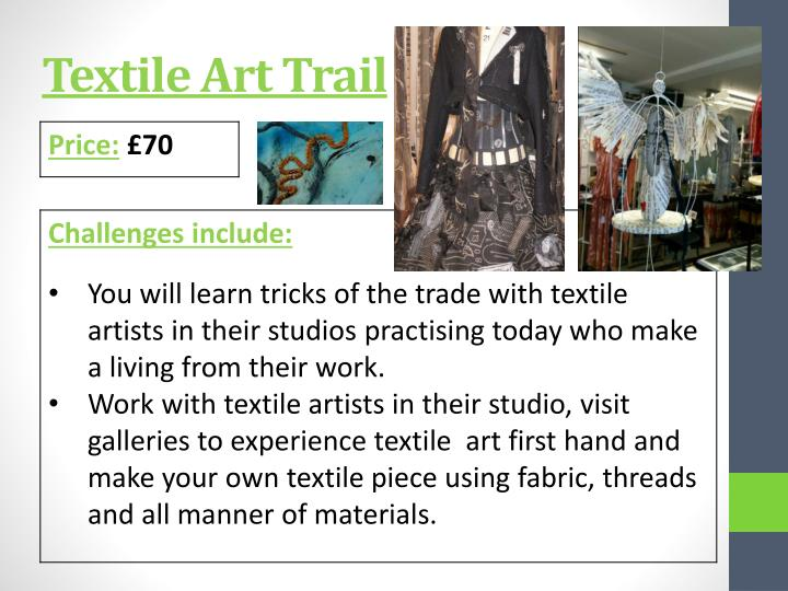 Textile Art Trail