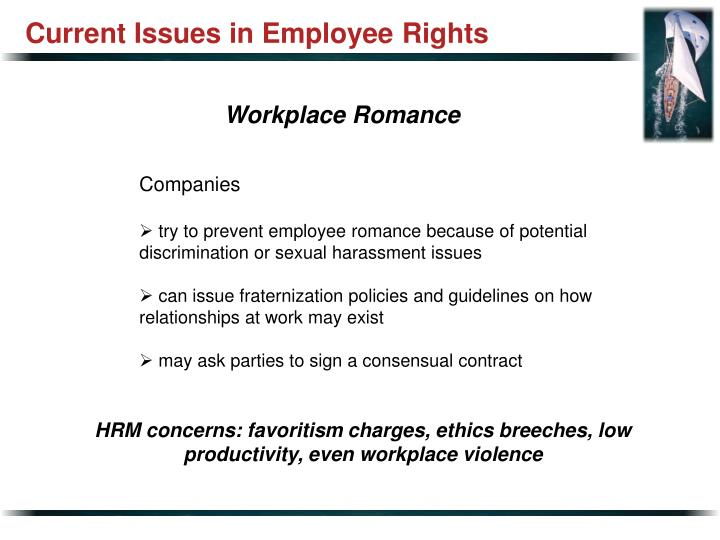 Current Issues in Employee Rights