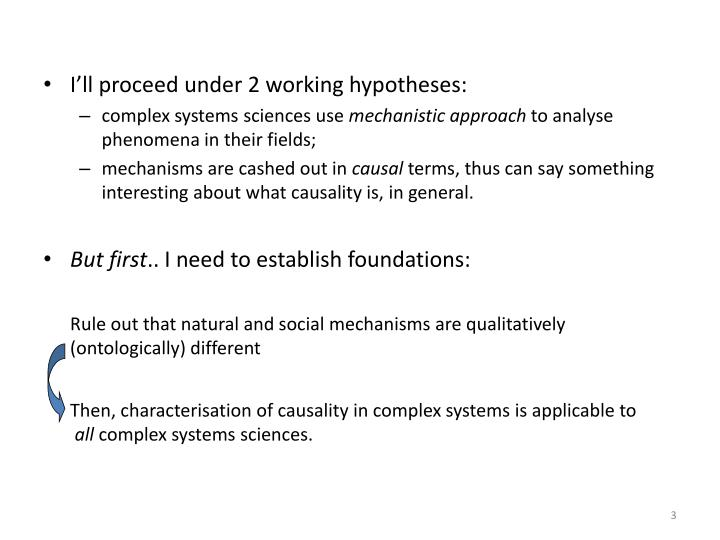 I'll proceed under 2 working hypotheses: