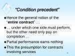 condition precedent1