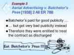 example 3 aerial advertising v batchelor s peas 1938 2 all er 7881
