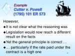 example cutter v powell 1795 101 er 5731