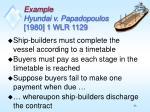 example hyundai v papadopoulos 1980 1 wlr 1129