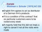 example wickman v schuler 1974 ac 235