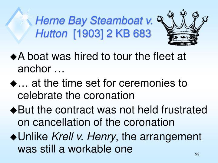 Herne Bay Steamboat v.