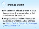 terms as to time1