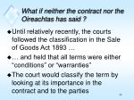 what if neither the contract nor the oireachtas has said