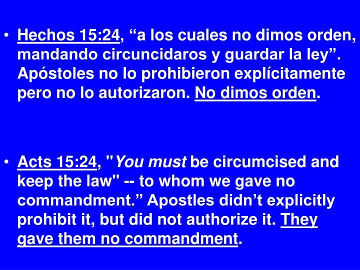 Hechos 15:24
