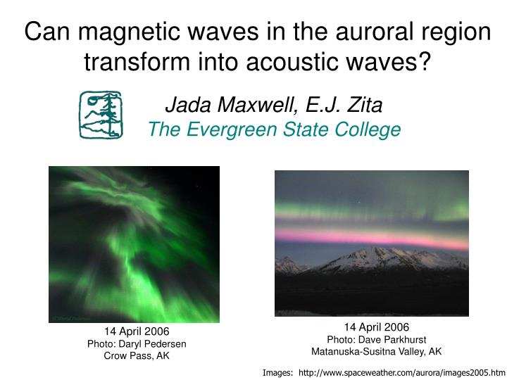 Can magnetic waves in the auroral region transform into acoustic waves?