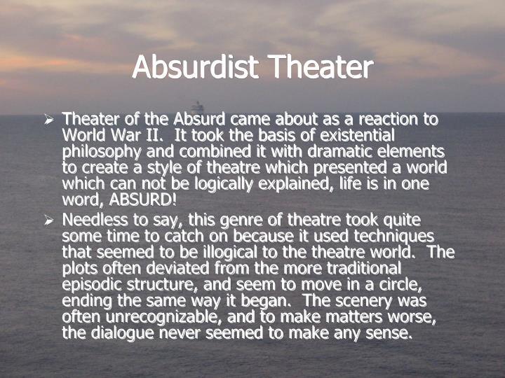 Absurdist Theater