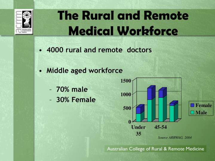 The Rural and Remote Medical Workforce