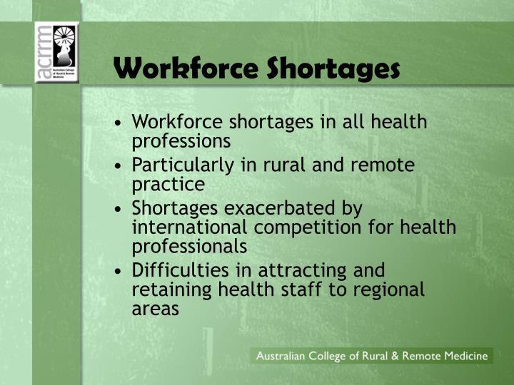 Workforce Shortages