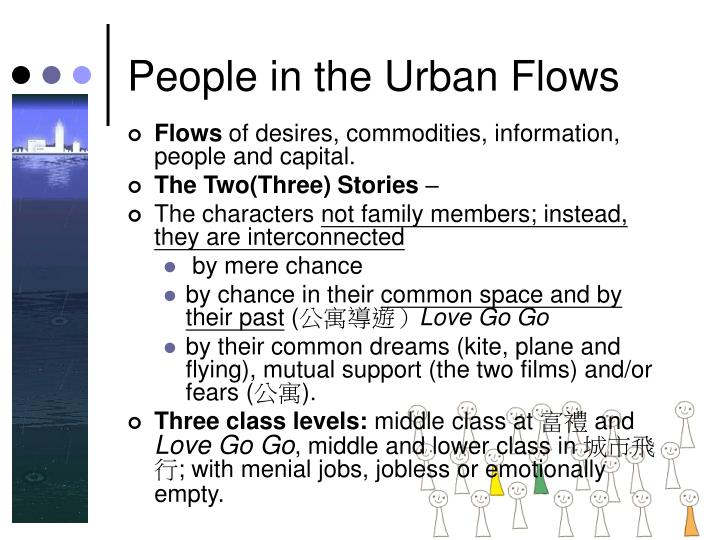 People in the Urban Flows