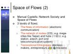 space of flows 2