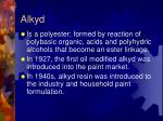 alkyd