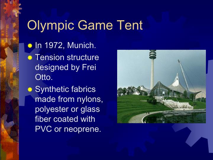 Olympic Game Tent