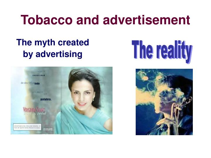 Tobacco and advertisement