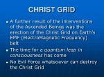 christ grid