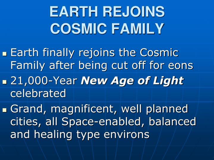 EARTH REJOINS