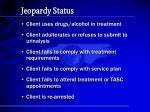 jeopardy status