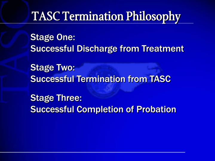 TASC Termination Philosophy