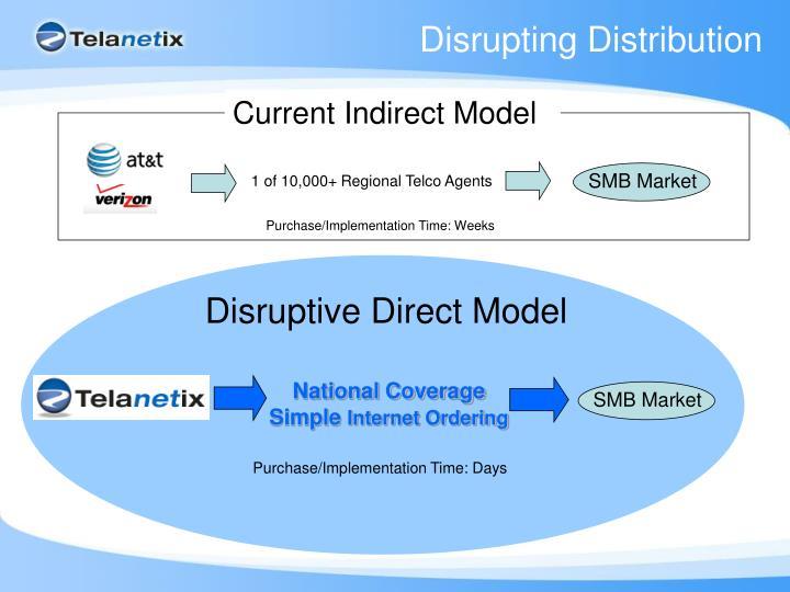 Disrupting Distribution