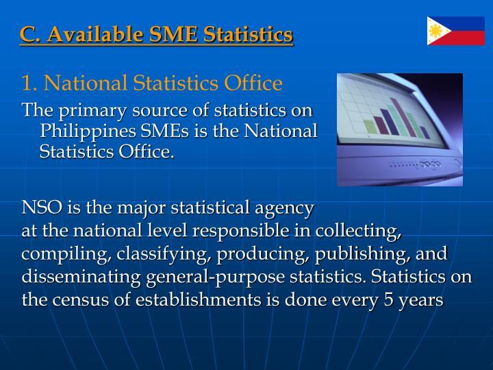 C. Available SME Statistics