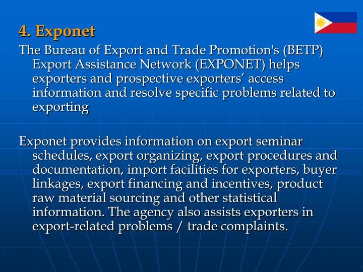 4. Exponet