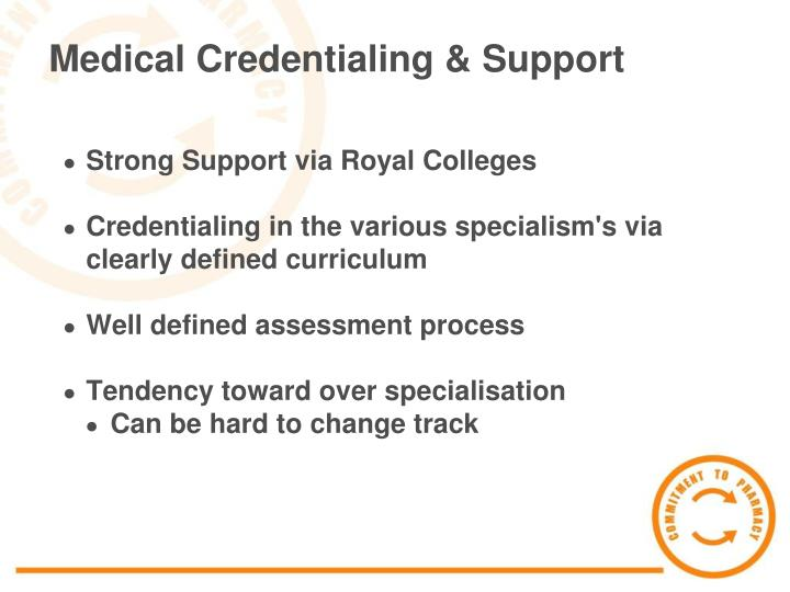 Medical Credentialing & Support
