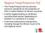 regional treaty protocol on foe1