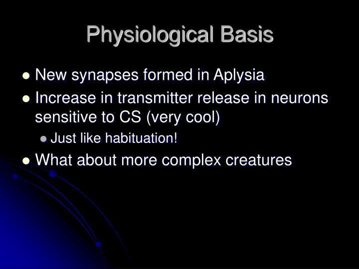 Physiological Basis
