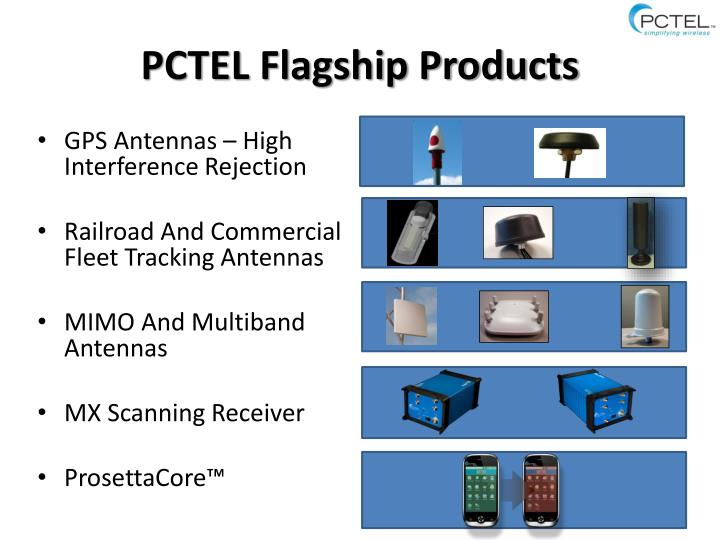 PCTEL Flagship Products