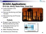 scada applications oil gas mining waste water smart grid
