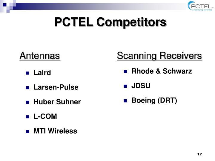 PCTEL Competitors