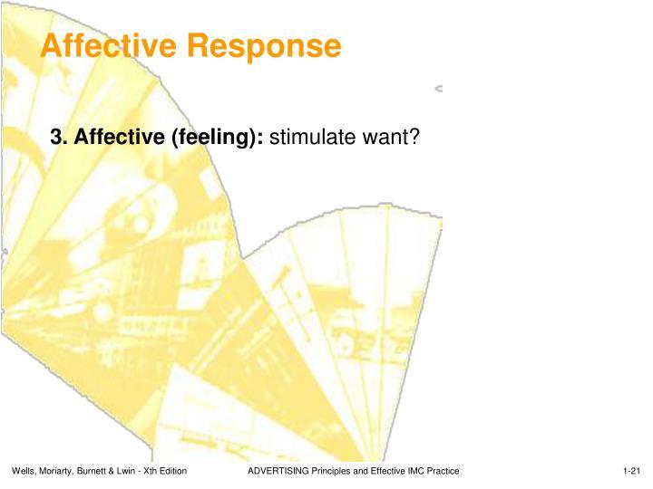 Affective Response