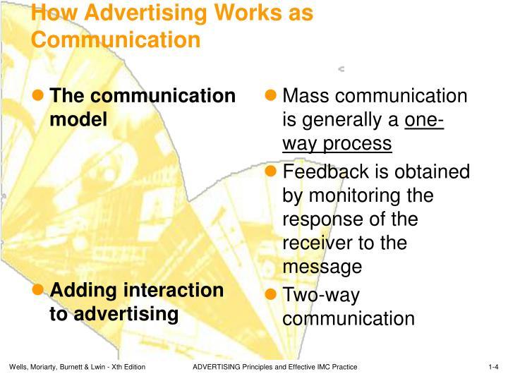 The communication model