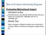 how to evaluate advertising programs2