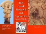 the good shepherd and agnus dei lamb of god