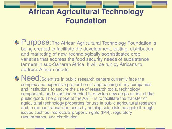 African Agricultural Technology Foundation